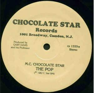 Single Cover M.c. Chocolate Star - The Pop