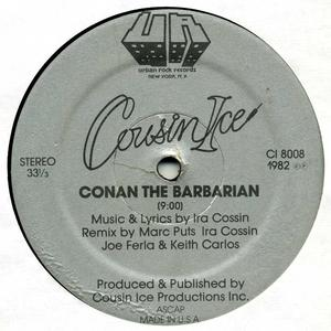 Single Cover Cousin Ice - Conan The Barbarian