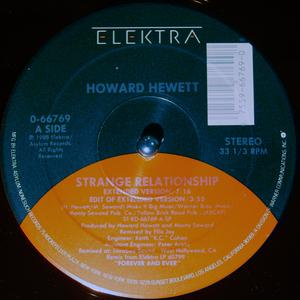 Single Cover Howard - Strange Relationship Hewett