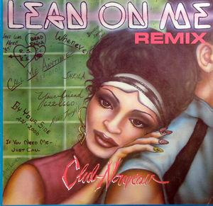 Single Cover Club Nouveau - Lean On Me (remix)