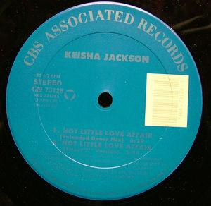 Single Cover Keisha - Hot Little Love Affair Jackson
