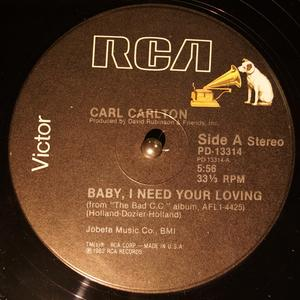 Single Cover Carl - Baby Carlton