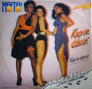 Single Cover Mai Tai - Keep On Dancin'