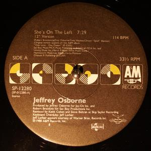 Single Cover Jeffrey - She's On The Left Osborne