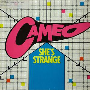 Single Cover Cameo - She's Strange