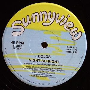 Single Cover Dolos - Night So Right