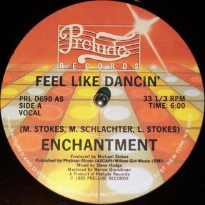 Single Cover Enchantment - Feel Like Dancing