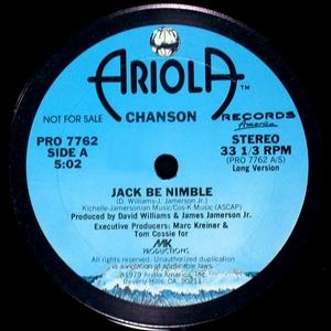 Single Cover Chanson - Jack Be Nimble