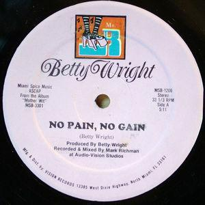 Single Cover Betty - No Pain Wright
