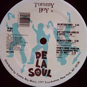 Single Cover De La Soul - Me Myself And I