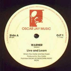Single Cover Warner - Live And Learn