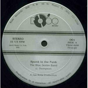 Single Cover The - Spunk In The Funk Blue Denim Band