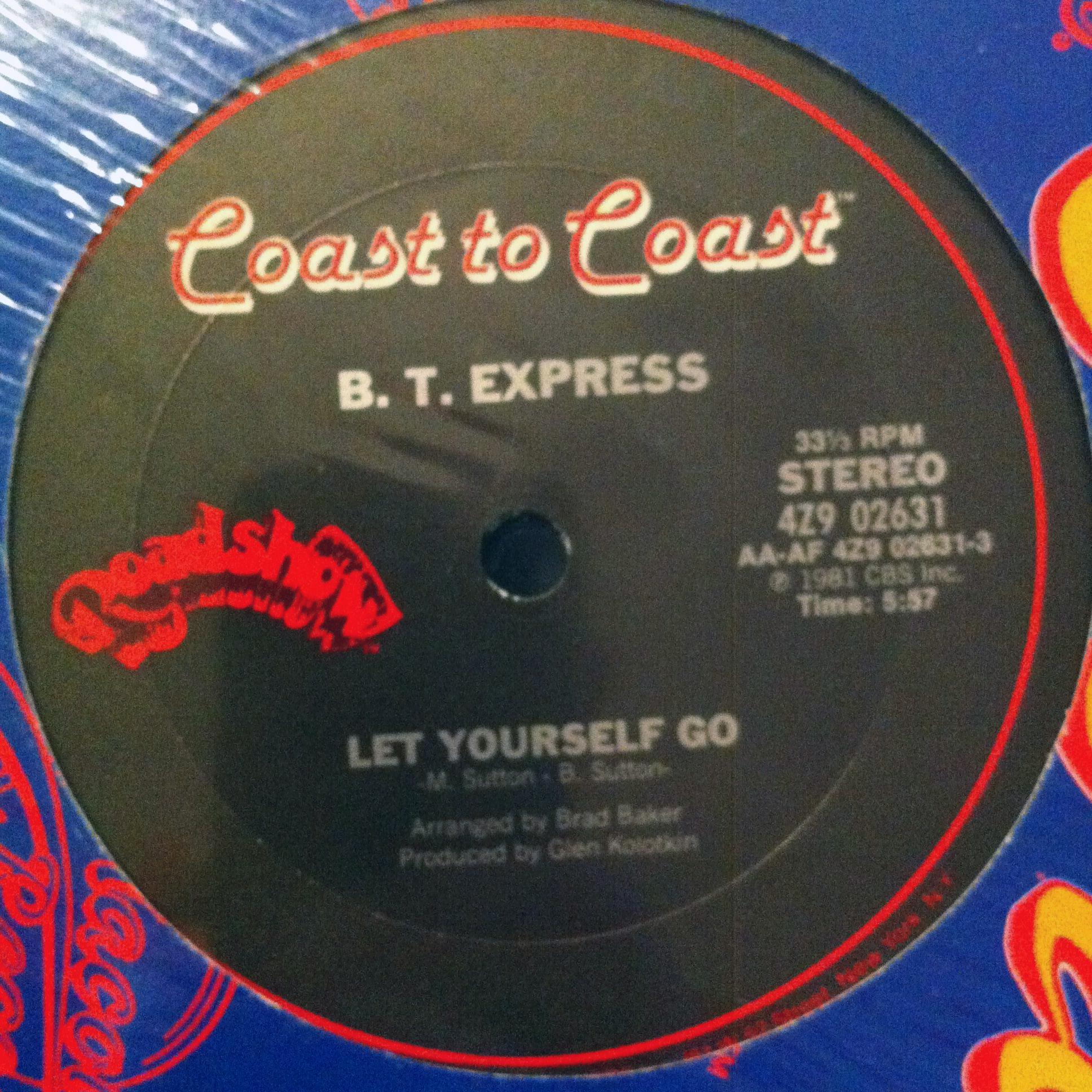 Single Cover B.t. Express - Let Yourself Go