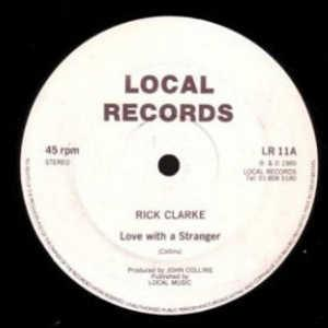 Single Cover Rick - Love With A Stranger Clarke
