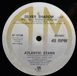 Single Cover Atlantic Starr - Silver Shadow (us Remix)