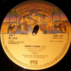 Single Cover Cameo - Throw It Down