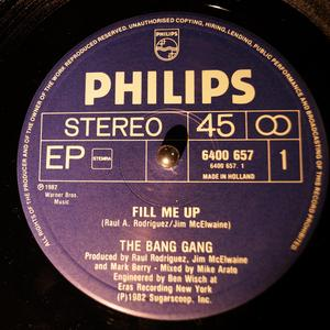 Single Cover The - Fill Me Up Bang Gang