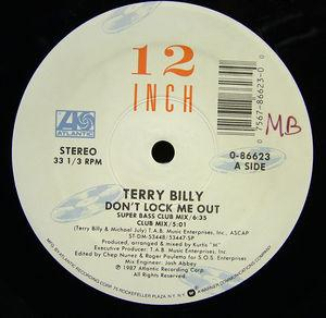 Single Cover Terry - Don't Lock Me Out Billy
