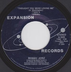 Single Cover Bobby - Thought You Were Loving Me Jonz