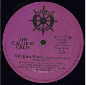 Single Cover The - Rhythm Rock Caution Crew