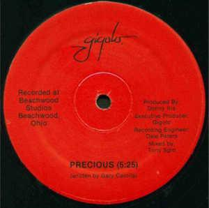 Single Cover Gigolo - Precious