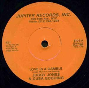 Single Cover Juggy - Love Is A Gamble (feat. Cuba Gooding) Jones