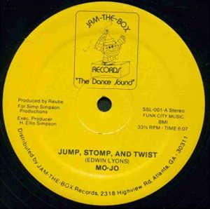 Single Cover Stomp And Twist Mo-jo - Jump