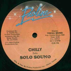 Single Cover Solo Souno - Chilly