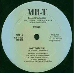 Single Cover Wickett - Only With You