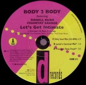 Single Cover Donell - Let's Get Intimate Rush