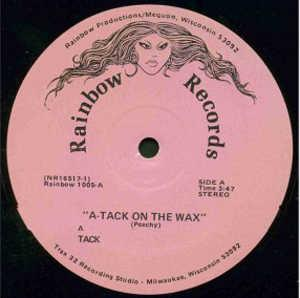 Single Cover A-tack - Attack On The Wax