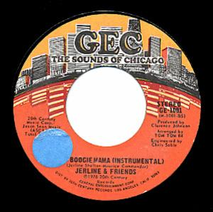 Single Cover Jerline And Friends - Disco Boogie Mama