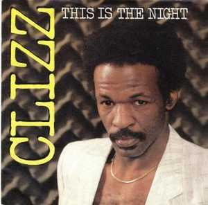 Single Cover Clizz - This Is The Night