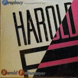 Single Cover Harold - Prophecy Faltermeyer