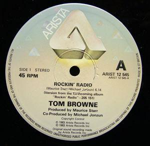 Single Cover Tom - Rockin' Radio Browne
