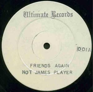 Single Cover James - Friends Again Player