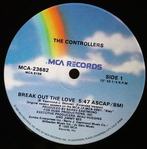 Single Cover The - Break Out The Love Controllers