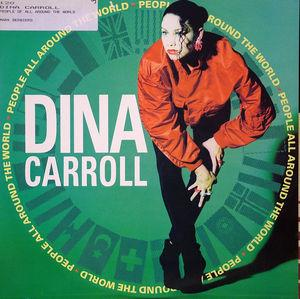 Single Cover Dina - People All Around The World Carroll