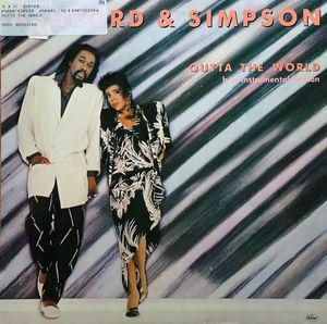Single Cover Ashford & Simpson - Outta The World