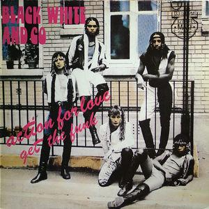 Single Cover Black White And Co - Action For Love