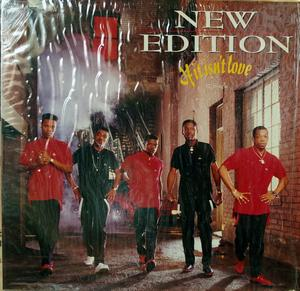 Single Cover New Edition - If It Isn't Love