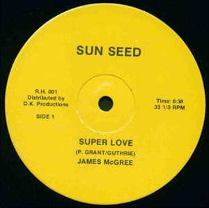 Single Cover James - Super Love Mcgree