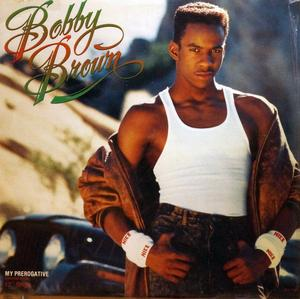 Single Cover Bobby - My Prerogative Brown
