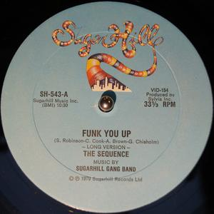 Single Cover The - Funk You Up Sequence