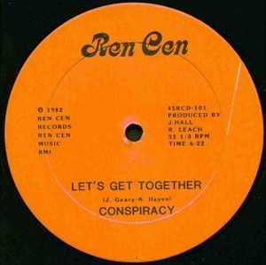 Single Cover Conspiracy - Let's Get Together