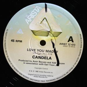 Single Cover Candela - Love You Madly