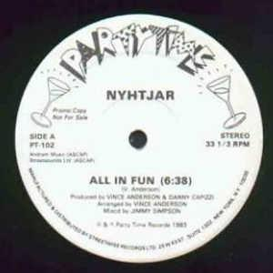 Single Cover Nyhtjar - All In Fun