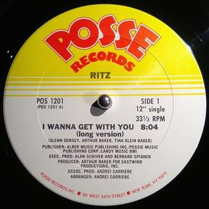 Single Cover Ritz - I Wanna Get With You