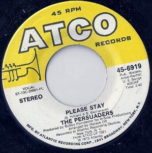 Single Cover The - Please Stay Persuaders