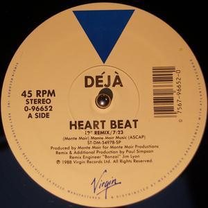 Single Cover Déjà - Heartbeat